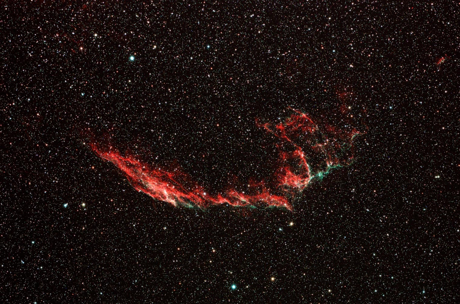 NGC6995-15min Single Frame FSQ106ED