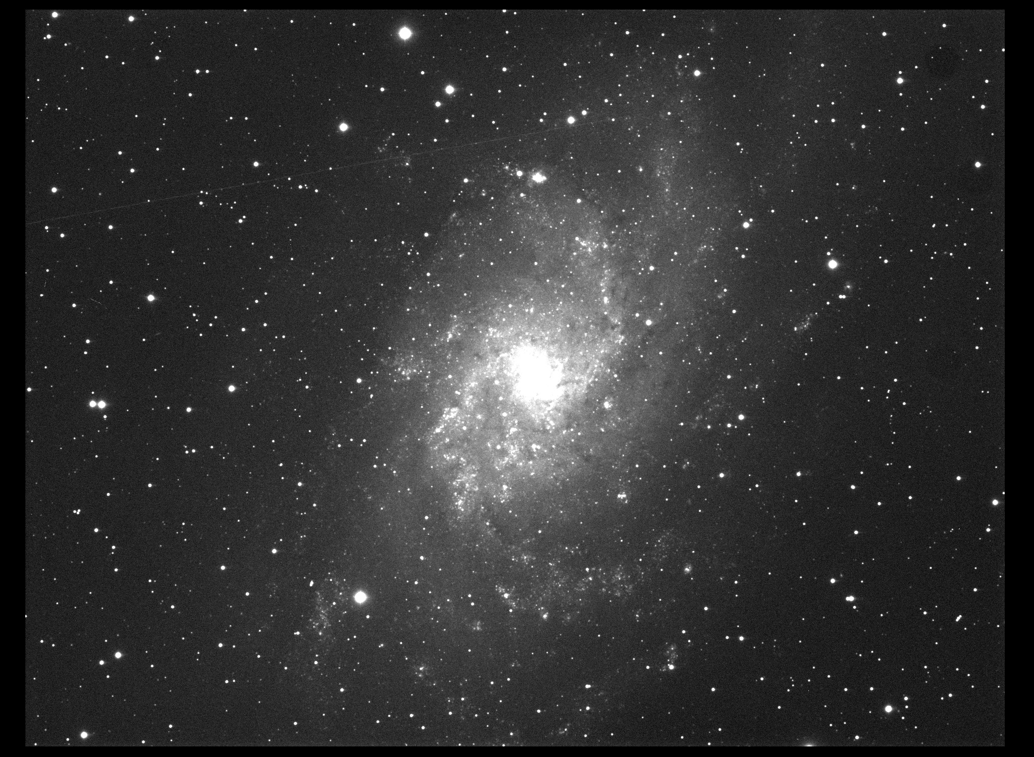 M33-QHY21 Single Frame FSQ106ED