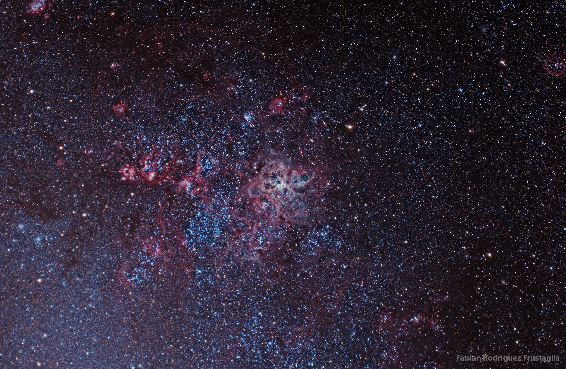 NGC 2070 Tarantula Nebula168
