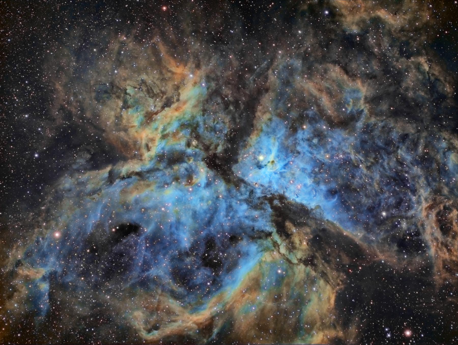 NGC 3372 Carina Nebula