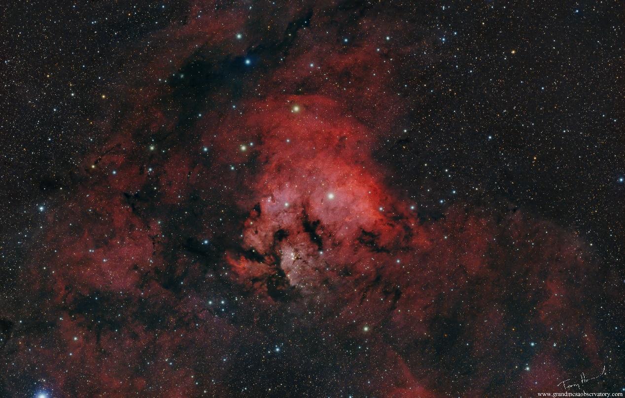 Pillars of heaven - NGC 7822