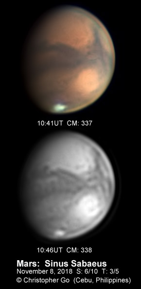 Mars with QHY290M
