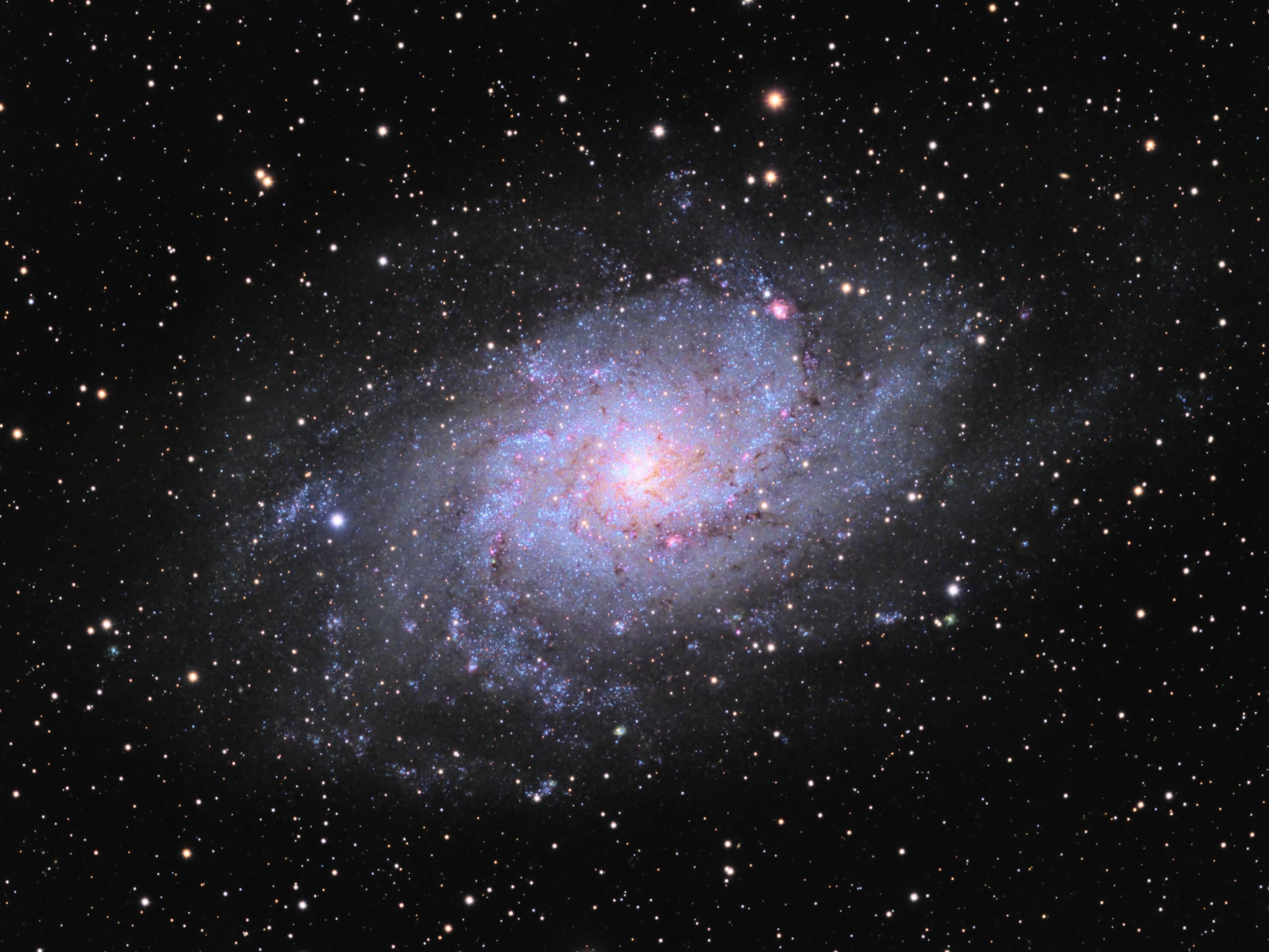 M33, Triangulum Galaxy, with QHY 16200A