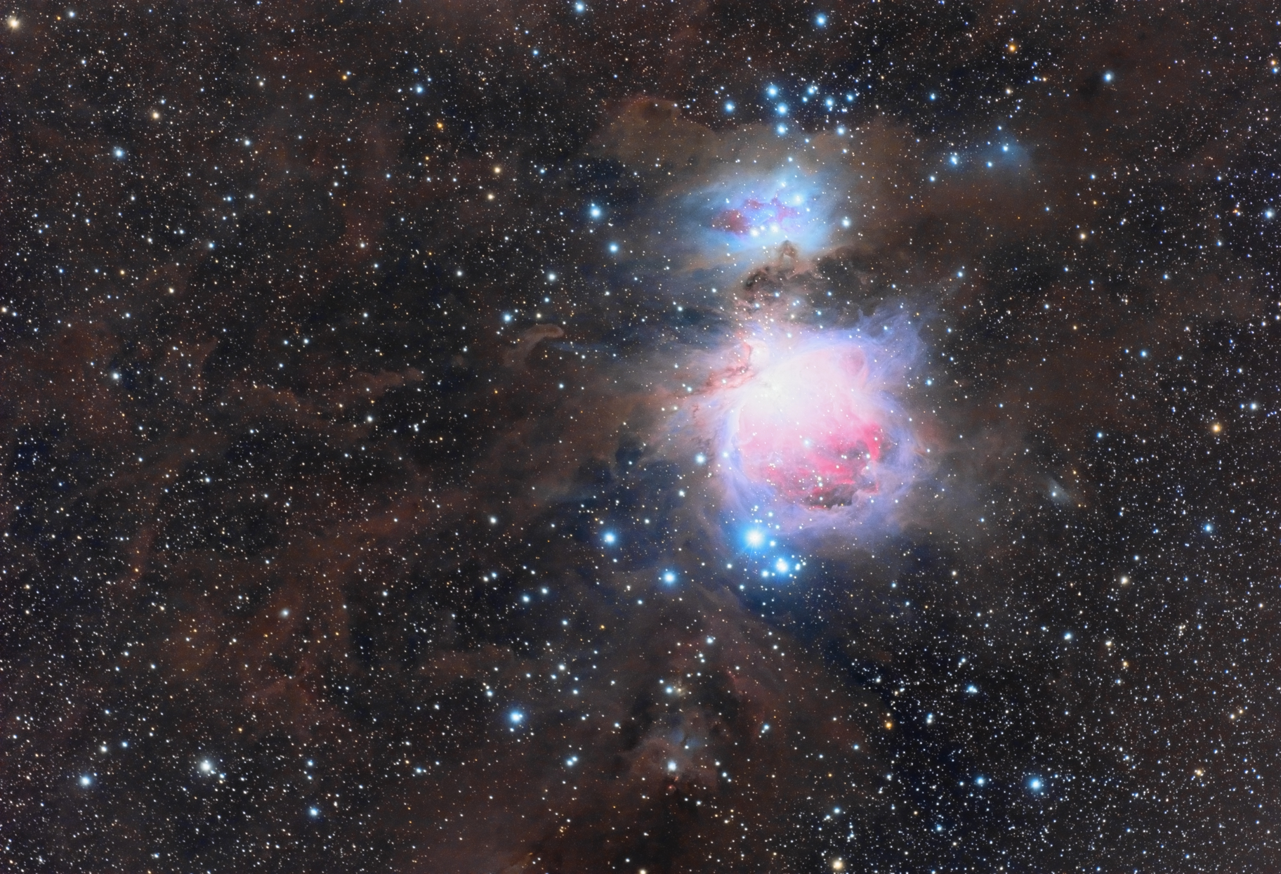 Great Orion Nebula Wide Field