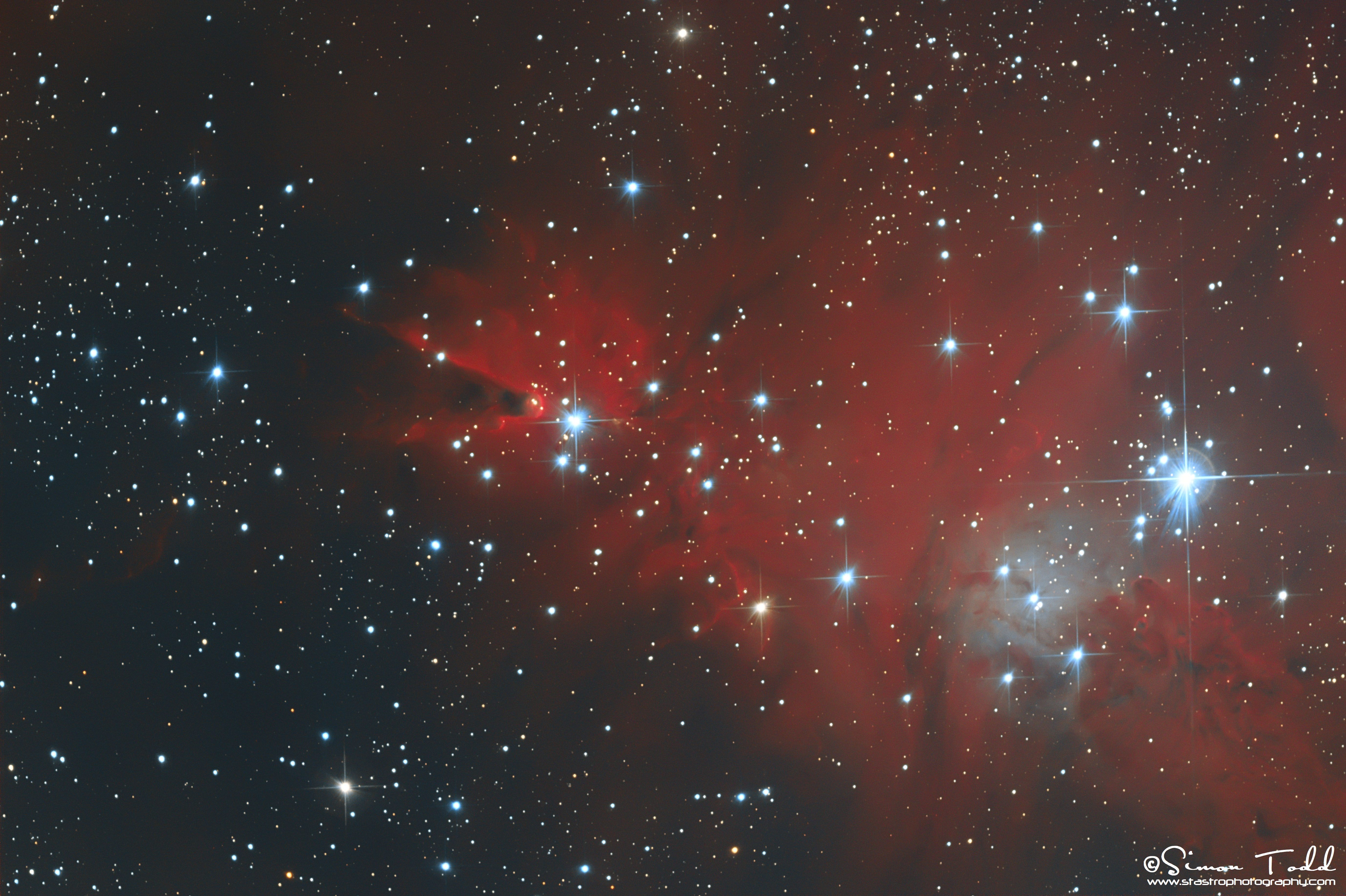 Cone Nebula - HaRGB - Processed - Signed